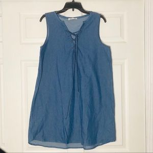 Dresses & Skirts - Denim A-line Dress